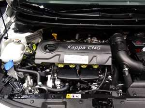 Hyundai i30 CNG engine