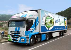 lidl iveco LNG truck