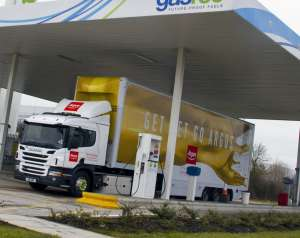 Euro 6 gas powered Scania