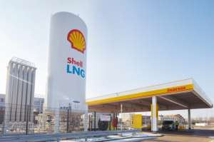 Shell first European LNG station