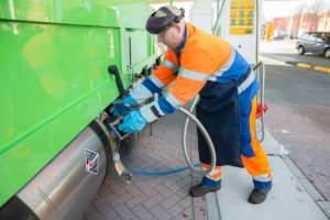 Shell first LNG station Holland